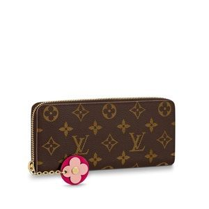 Louis Vuitton   Clemence Blooms Wallet Monogram